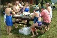 Aug. 5th post-ride picnic at Lake Wyola (110 KB)